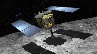 Το ιαπωνικό σκάφος Hayabusa 2 «πάτησε» στον αστεροειδή Ριούγκου και συνέλεξε το πρώτο δείγμα