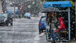 Κακοκαιρία «Ωκεανίς»: Άλλαξαν τα προγνωστικά - Πού θα χιονίσει