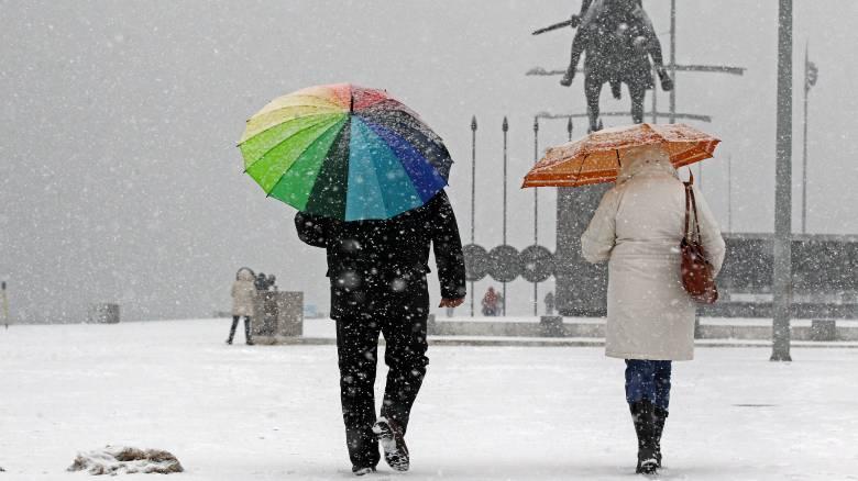 Κακοκαιρία: Πάνω από την Ελλάδα η «Ωκεανίδα» - Χιόνια και χαμηλές θερμοκρασίες