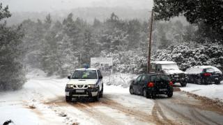 Κακοκαιρία: Ποιοι δρόμοι είναι κλειστοί σε όλη τη χώρα - Πού χρειάζονται αλυσίδες