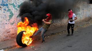 Η Κολομβία κάνει λόγο για 285 τραυματίες στα σύνορα της με τη Βενεζουέλα