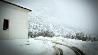 Κακοκαιρία: Επιχείρηση απεγκλωβισμού τραυματισμένου άνδρα στην Εύβοια