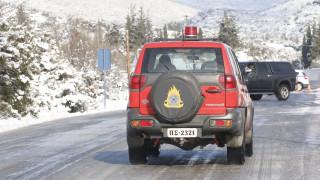 Εύβοια: Αίσιο τέλος στην επιχείρηση απεγκλωβισμού του τραυματισμένου άνδρα