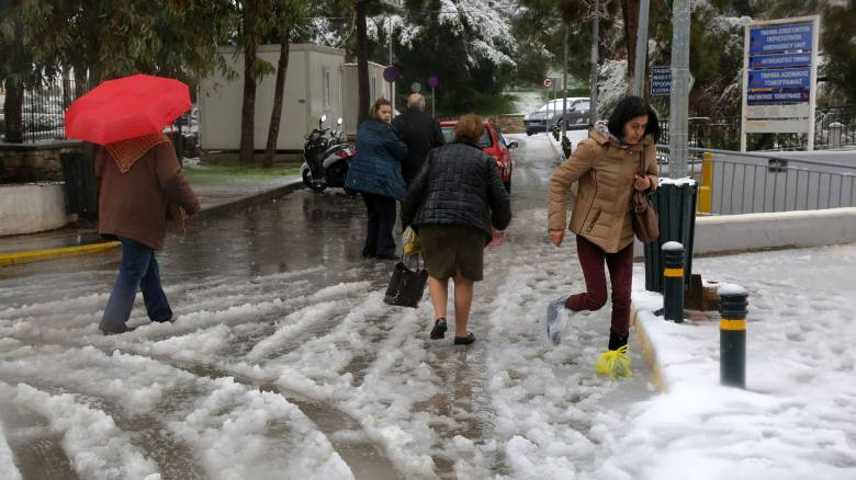 Η «Ωκεανίδα» σάρωσε την Κρήτη: Χαλάζι, πλημμύρες και κατολισθήσεις