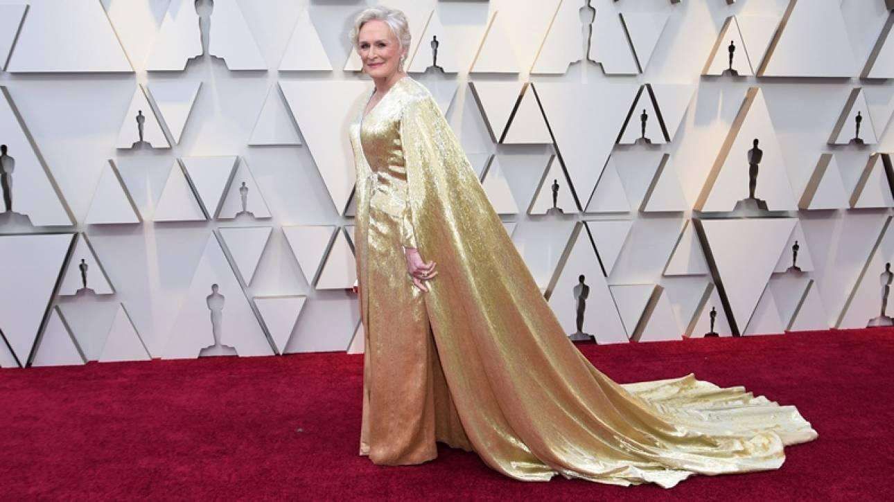 Όσκαρ 2019: Βαρύ και… ασήκωτο το φόρεμα της Γκλεν Κλόουζ! Δείτε πόσο ζυγίζει