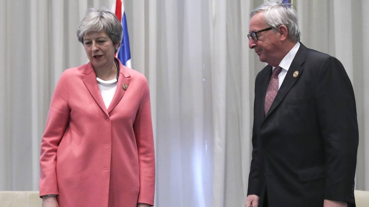 Brexit: Να τελειώνει τη «δουλειά» μέχρι τη Σύνοδο της 21ης Μαρτίου θέλει η ΕΕ