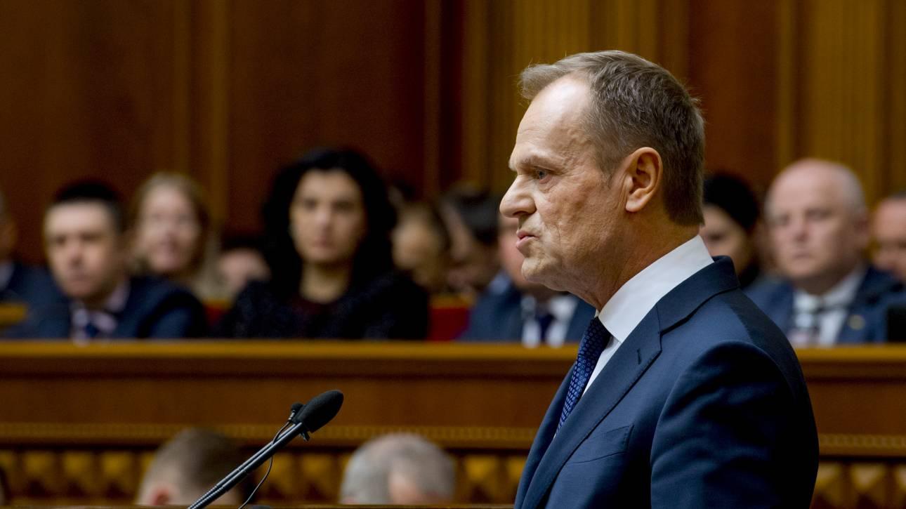 «Παράθυρο» Τουσκ για πιθανή παράταση του Brexit