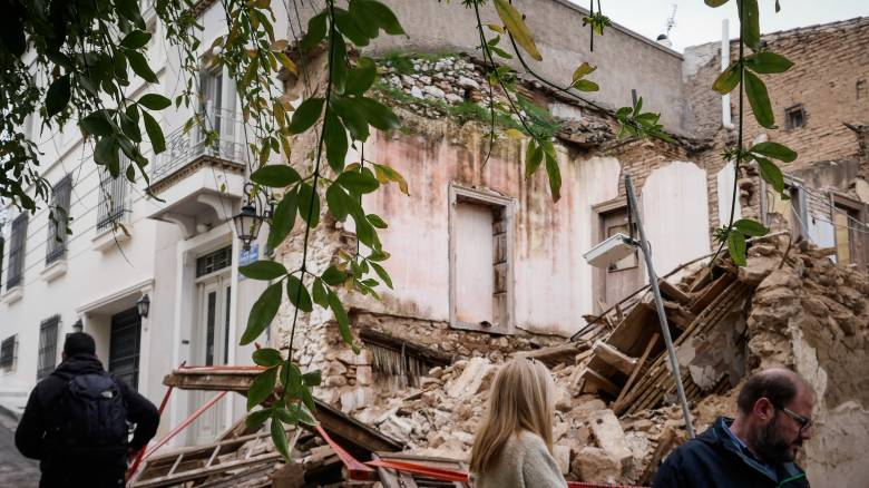 Κατάρρευση διώροφης κατοικίας στη Λευκωσία