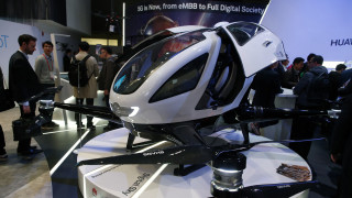 Αεροταξί-drones θα μεταφέρουν επιβάτες χωρίς οδηγό