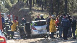 Θεσσαλονίκη: Εντοπίστηκε νεκρός σε φλεγόμενο όχημα