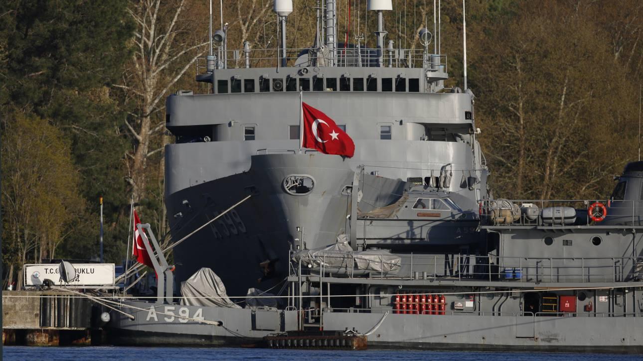 Ξεκινάει η τουρκική άσκηση «Γαλάζια Πατρίδα»: H Τουρκία βγάζει το στόλο της στη Μεσόγειο