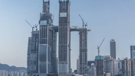 Ο οριζόντιος ουρανοξύστης της Κίνας είναι σχεδόν έτοιμος