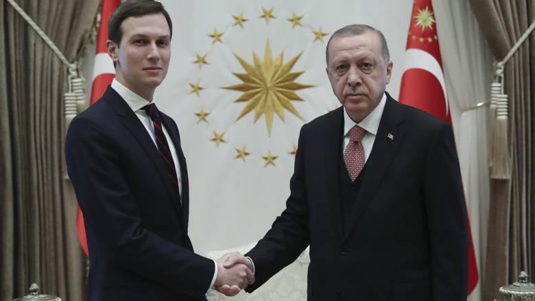 Στην Τουρκία για συνομιλίες με τον Ερντογάν ο γαμπρός του Τραμπ