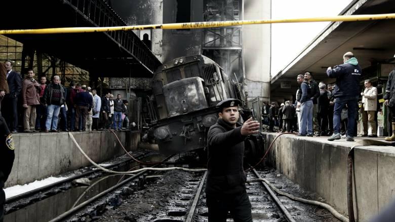Αίγυπτος: 20 οι νεκροί από τη σιδηροδρομική τραγωδία - Παραιτήθηκε ο υπ. Μεταφορών
