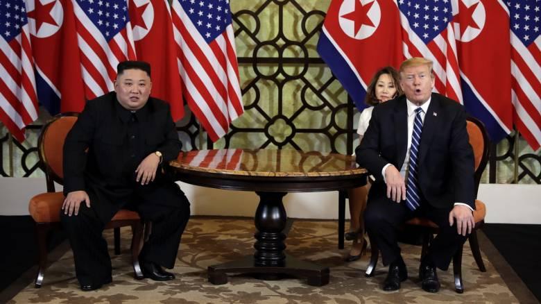 «Καμία βιασύνη» από τον Τραμπ για την επίτευξη συμφωνίας - Ο Κιμ θα να κάνει «ό,τι καλύτερο μπορεί»