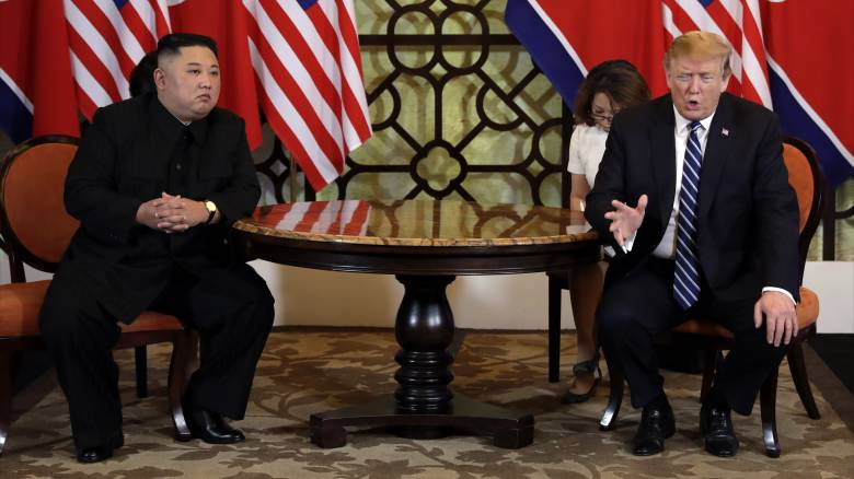 Εμπλοκή στο Ανόι: Δεν κατέληξαν σε συμφωνία Τραμπ-Κιμ