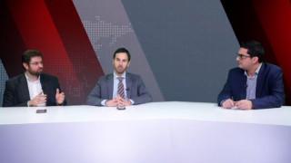 Αντιλογίες: Κ. Ζαχαριάδης και Ν. Ρωμανός στο στούντιο του CNN Greece