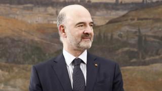 Μοσκοβισί στη Βουλή: Σε αυτή την προεκλογική περίοδο μην χάσετε τους στόχους σας
