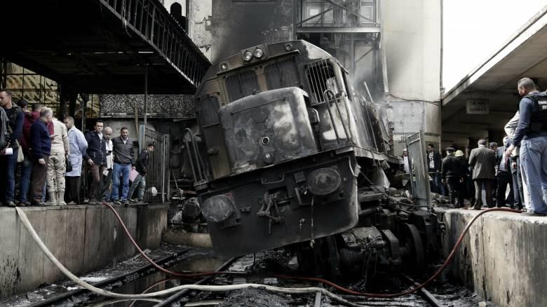 Κάιρο: Το δυστύχημα προκλήθηκε λόγω ενός καβγά του οδηγού του τρένου
