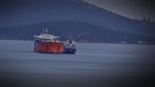 Ακυβέρνητο δεξαμενόπλοιο νότια της Μακρονήσου