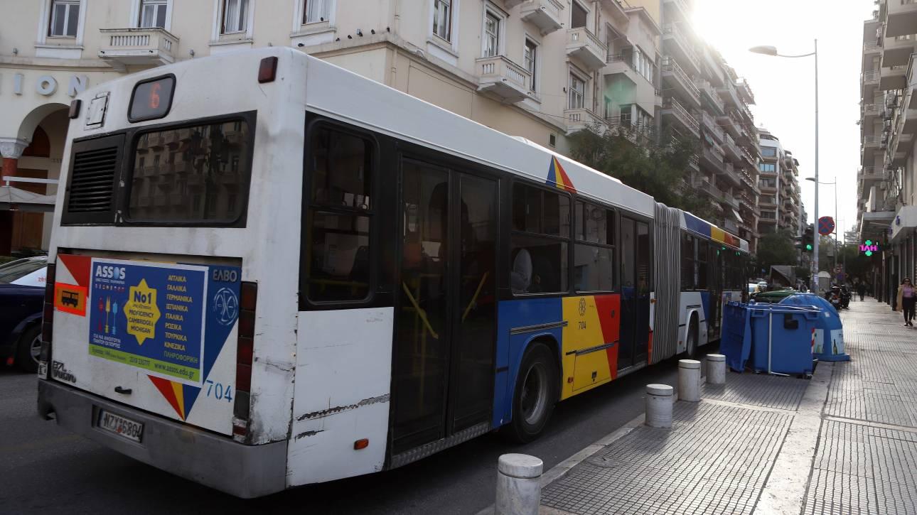 Θεσσαλονίκη: Οδηγός πέθανε στο τιμόνι και συγκρούστηκε με λεωφορείο του ΟΑΣΘ