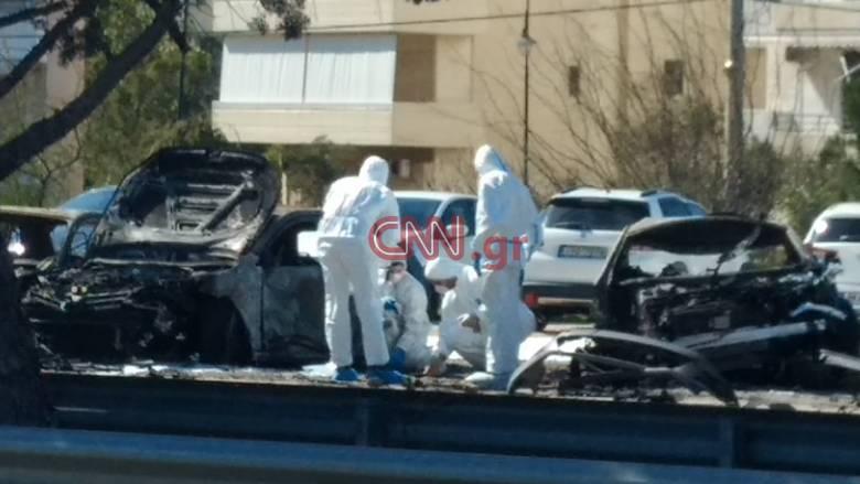 Ισχυρή έκρηξη σε πάρκινγκ στη Γλυφάδα