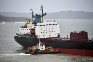 Απίστευτο βίντεο: Φορτηγό πλοίο πέφτει πάνω στη δεύτερη πολυσύχναστη γέφυρα της Νότιας Κορέας