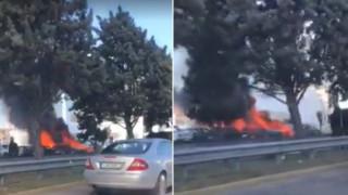 Βίντεο: Οι πρώτες στιγμές μετά την ισχυρή έκρηξη στη Γλυφάδα