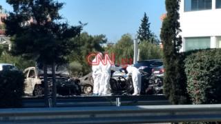 Έκρηξη Γλυφάδα: Αυτός είναι ο ιδιοκτήτης του καμένου οχήματος