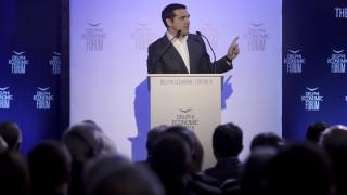 Τσίπρας από Δελφούς: Θα είμαι ο πρώτος Έλληνας πρωθυπουργός που θα επισκεφθεί επισήμως τα Σκόπια