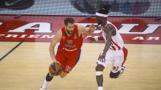 Ολυμπιακός-ΤΣΣΚΑ Μόσχας 81-97: Η «Αρκούδα» τον έκανε μια… χαψιά!