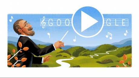 Google doodle: Ποιος είναι ο Μπέντριχ Σμέτανα που τιμάται σήμερα