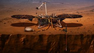 Έρχονται αποκαλύψεις: To InSight σκάβει στον Άρη και o Mars Express ανακαλύπτει αρχαίες λίμνες