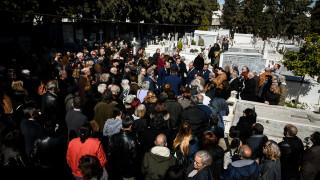 Συγκίνηση στην κηδεία του Φαίδωνα Γεωργίτση