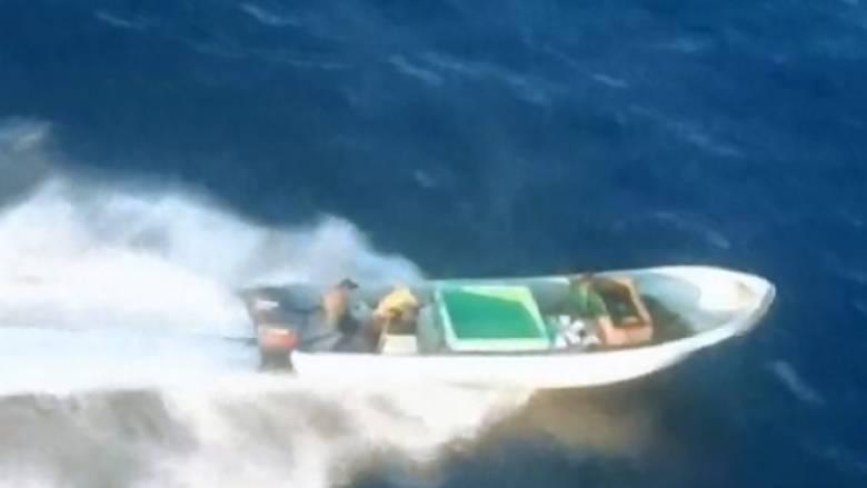 Μεξικό: Κινηματογραφική καταδίωξη εμπόρων κοκαΐνης στη θάλασσα