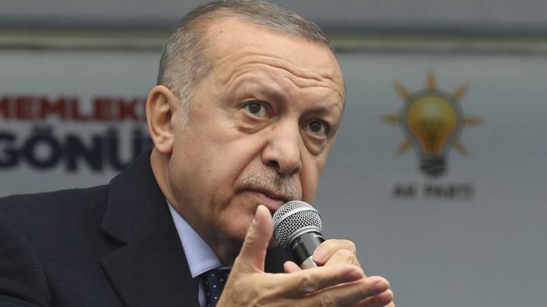 Ερντογάν: Εχθροί της Τουρκίας οι Ελληνοκύπριοι