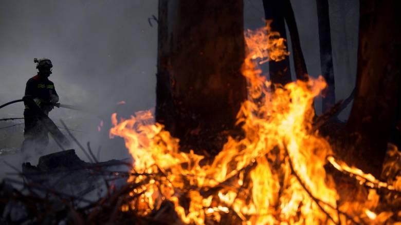 Στις φλόγες η Ισπανία: Σχεδόν 100 πυρκαγιές στα βόρεια
