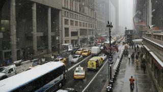 Σε κλοίο χιονιά οι ΗΠΑ - Αντιμέτωπη με τη σφοδρότερη φετινή χιονοθύελλα η Νέα Υόρκη