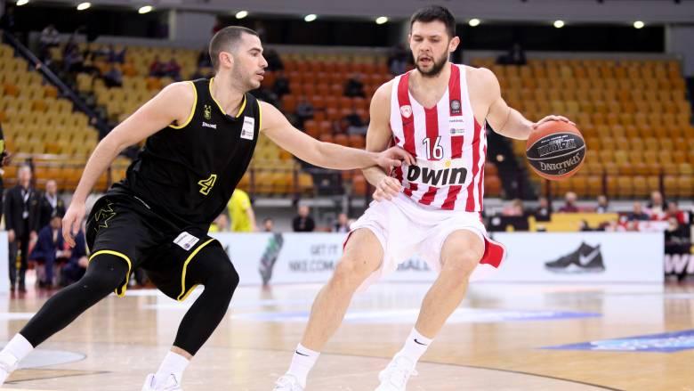Ολυμπιακός-Άρης 76-67: Ζορίστηκε αλλά νίκησε και «βλέπει» Μπούντουτσνοστ