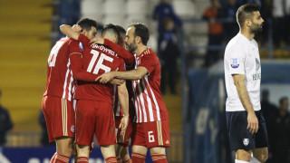 Απόλλων Σμύρνης-Ολυμπιακός 0-2: «Βόλτα» στη Ριζούπολη για να ξεχάσει την Τσικνοπέμπτη