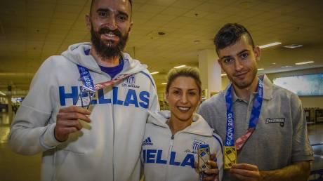 Στίβος: Με τέσσερα μετάλλια και χαμόγελα επέστρεψαν οι Έλληνες αθλητές