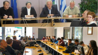 Η αντιπεριφερειάρχης Αττικής Σοφία Κορωναίου στην πρωτοβουλία μαθητών για την ανακύκλωση