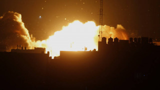 Γάζα: Ισραηλινά μαχητικά έπληξαν στρατόπεδο εκπαίδευσης μελών της Χαμάς