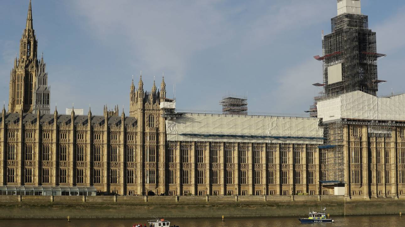 Λήξη συναγερμού: Δεν ήταν «ύποπτο» το πακέτο στο βρετανικό κοινοβούλιο