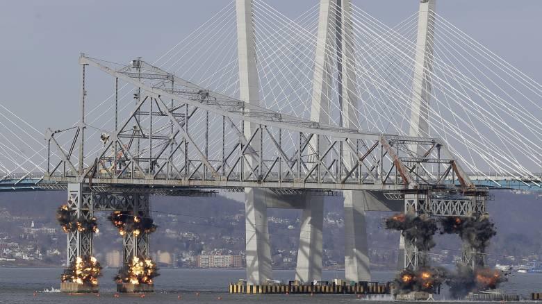 Νέα Υόρκη: Η κατεδάφιση γέφυρας από... ψηλά