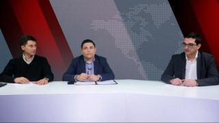 Αντιλογίες: Γ. Μπουρνούς και Π. Χρηστίδης στο στούντιο του CNN Greece