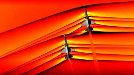 NASA: Εντυπωσιακές φωτογραφίες από τη στιγμή που αεροσκάφη «σπάνε» το φράγμα του ήχου