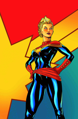 Cover of Captain Marvel 1 2013
