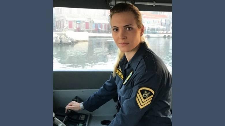 Μαρία Κόντη: Η μόνη γυναίκα κυβερνήτης σκάφους στα ανατολικά σύνορα