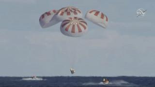 Επέστρεψε στη Γη η κάψουλα Dragon της SpaceX